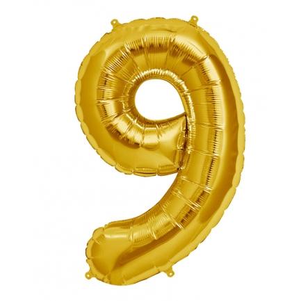 Воздушный шар цифра 9