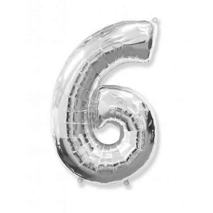 Воздушный шар цифра 6