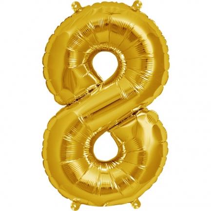 Воздушный шар цифра 8